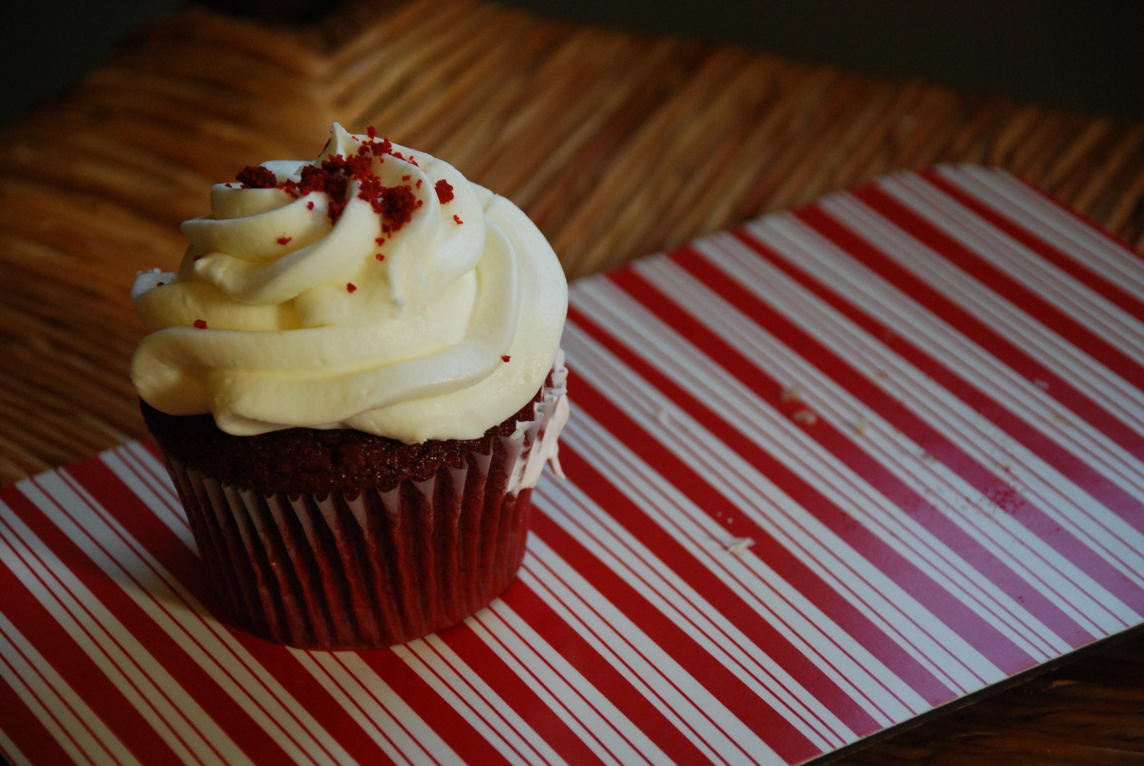 The Red Velvet cupcake from Lyndell's Bakery in Somerville.  A Somerville institution since 1887.
