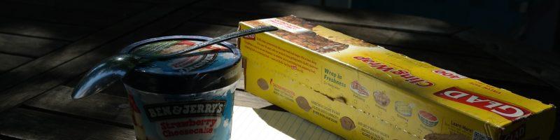 Screaming Labor Day Ice Cream Cake Recipe (Sponsored)